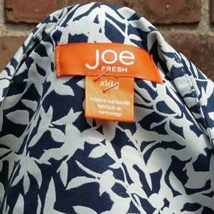 Joe Fresh Dresses - Blue flower print dress